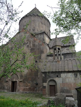 Bjni, Αρμενία: Бжни, церковь Св. Аствацатин, 1031 г.