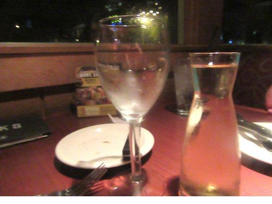 Black Angus Steakhouse - Milpitas: White Wine, Black Angus Steakhouse, Milpitas, CA