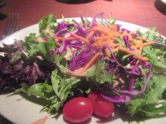 Black Angus Steakhouse - Milpitas: Garden Salad, Black Angus Steakhouse, Milpitas, CA
