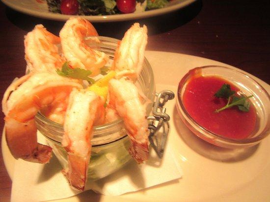 Shrimp Cocktail, Black Angus Steakhouse, Milpitas, CA
