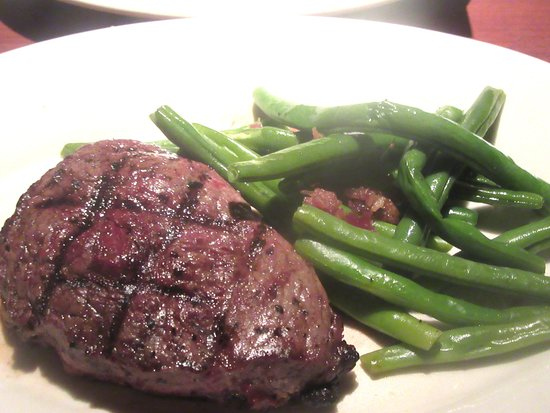 10 Ounce Sirloin Steak with Vegetables, Black Angust Steakhouse, Milpitas,, CA
