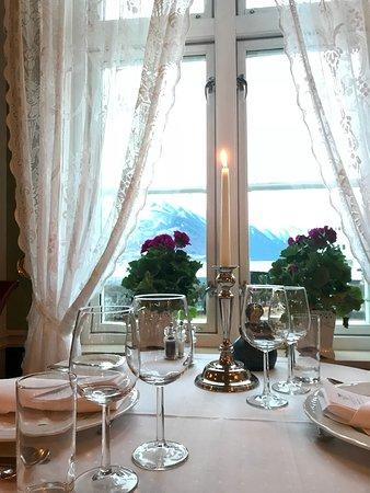 Walaker Hotell: Restaurangen.