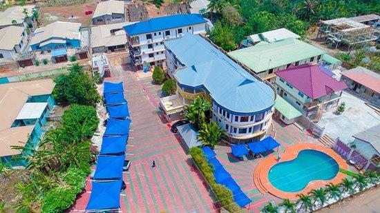 Sunyani, غانا: Glamossay hotel Sunyani Ghana