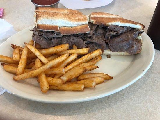 McGregor, TX: Nasty Italian beef sandwich