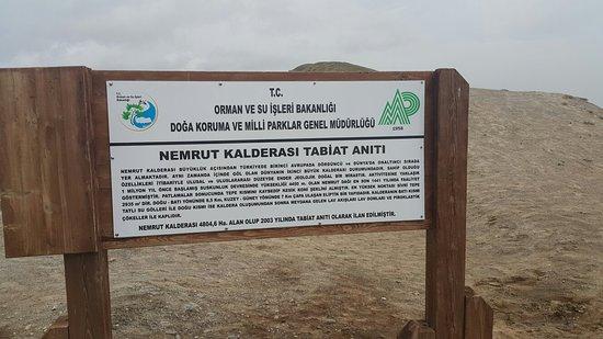 Bitlis, Turkey: Nemrut Gölü