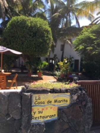 La Casa de Marita : Street entrance