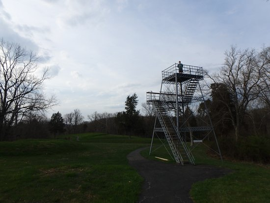 Peebles, OH: Observation tower