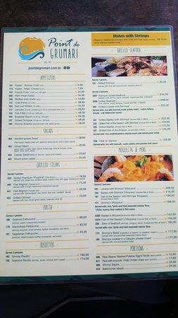 Restaurante Point de Grumari: 20180428_134701_large.jpg