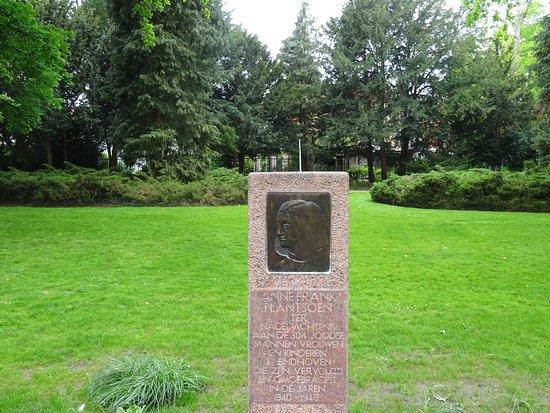 """Anne Frankplantsoen aan het riviertje """"De Dommel"""" Eindhoven"""