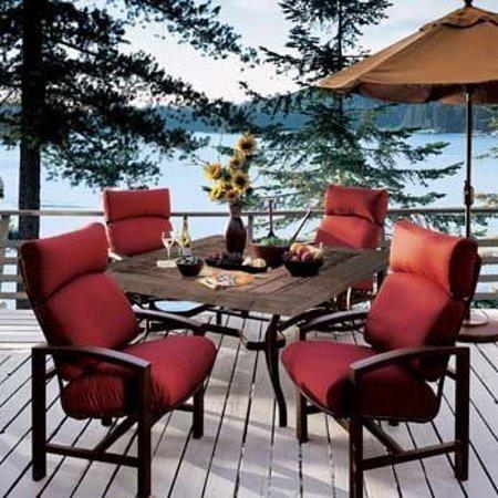 Daylight Home Lighting And Patio San Luis Obispo Aluminum Furniture With Sunbrella Fabric