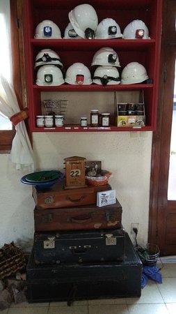 Minas de Corrales, Uruguay: todo listo para ir a la mina!