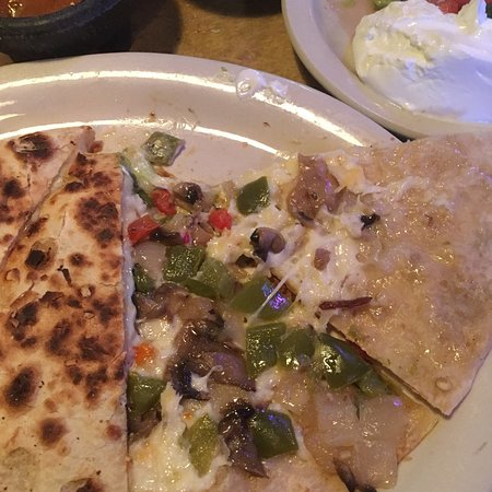 Salsa's: Inside cheese quesadilla
