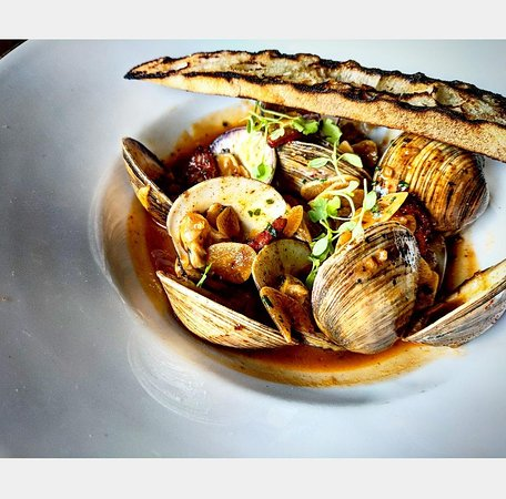 New Orleans BBQ Clams!- PhotoCredit: @mcbring