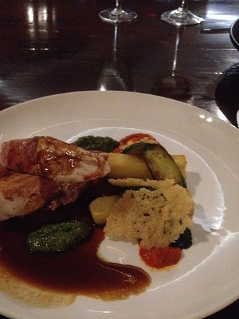 The Boatshed Restaurant: Chicken breast