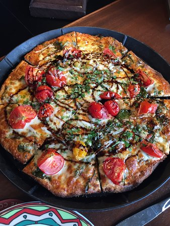 Euclid, OH: I this was a the garden pizza - one of the monthly special pizzas they do, which are always insp