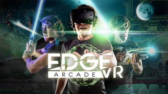 Welcome to Edge VR Arcade! Green Bay's Virtual Reality Arcade.