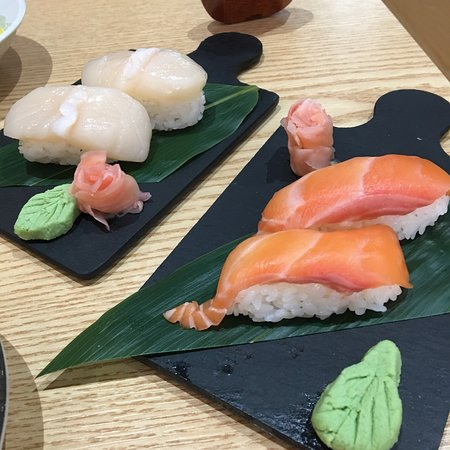 Great sushi, GF options available, book ahead