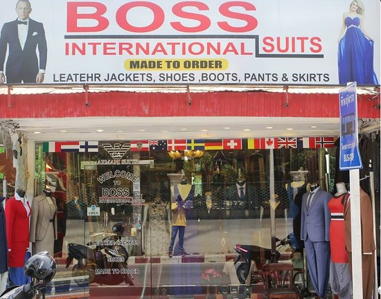 Boss International Suits