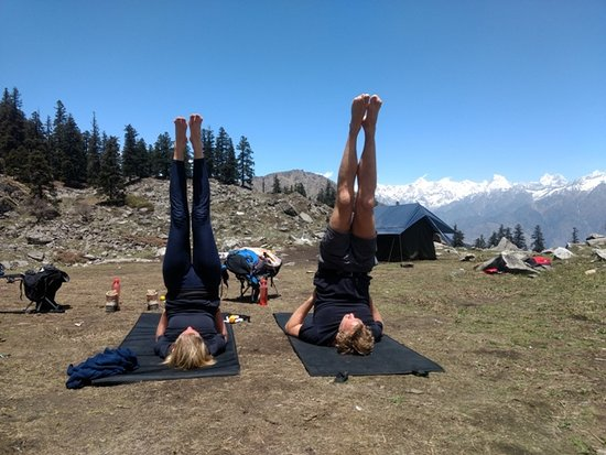 Yoga in Himalayas - Picture of Himalayas Adventure