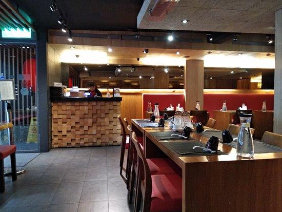 品川蘭:店裡環境