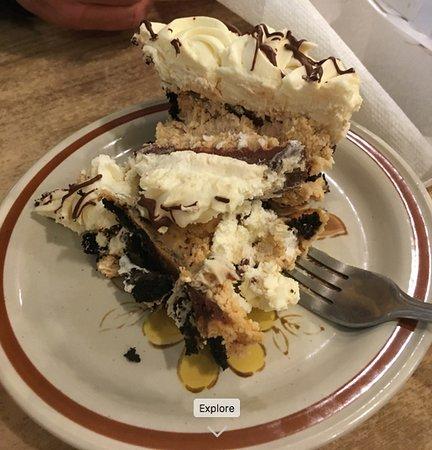 Oark, AR: Peanut butter chocolate pie!