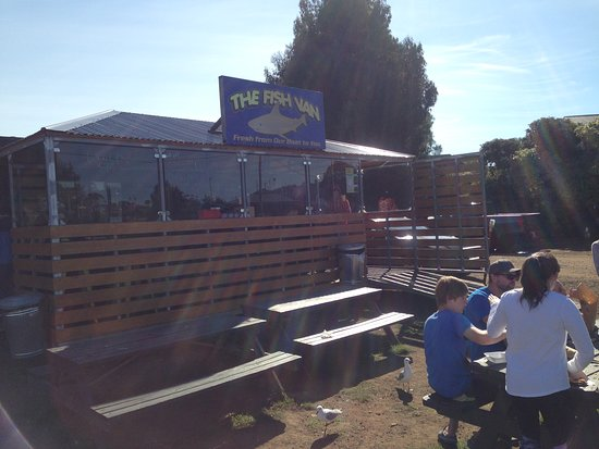Triabunna, Australia: The fish van