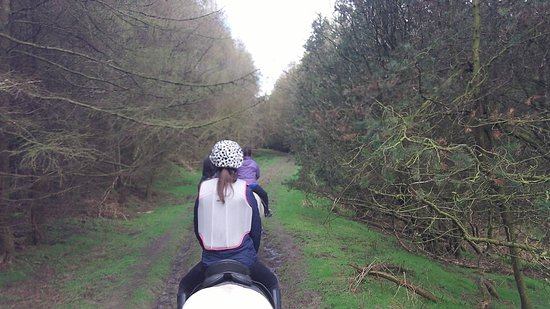 Hawnby, UK: great riding