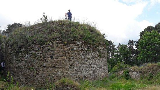 Krnov, Tsjechië: Šelenburg- zřícenina hradu Cvilín