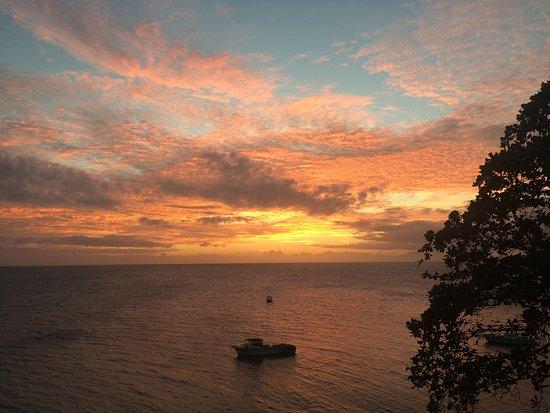 Royal Davui Island, Fiji: Sunset from Villa 3
