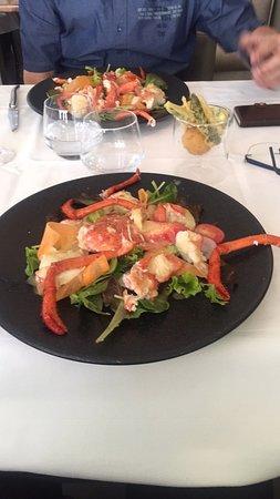 Restaurant de la Gare Chez Sandro: Salade de homard