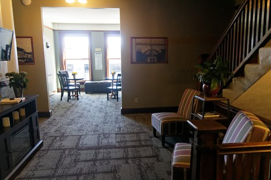 Butte, MT: Upstairs sitting area