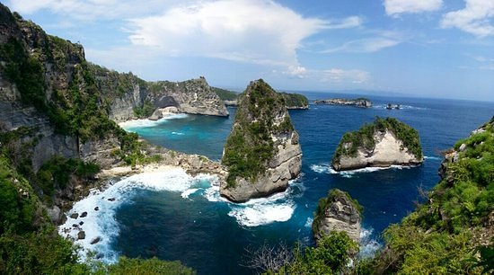 one thousand island at nusa penida