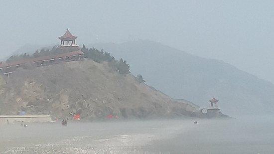 Donggang, China: Pavillion.