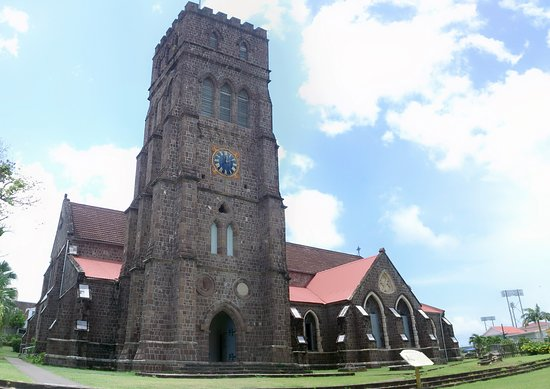 Basseterre, St. Kitts: Church