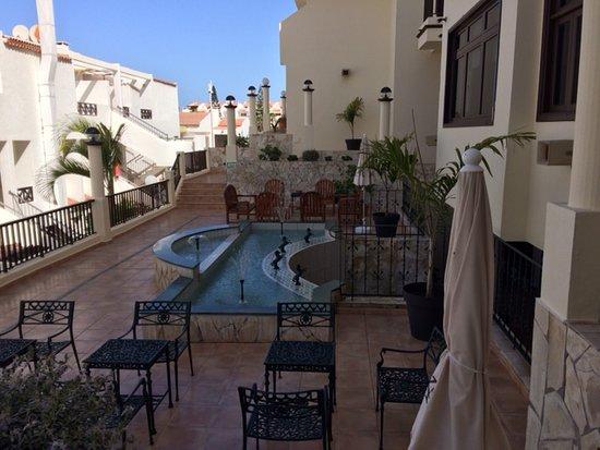 Outside Terrace Area Picture Of Ska Olivina Apartments
