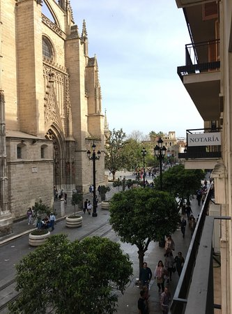 Puerta Catedral Suites: View from balcony