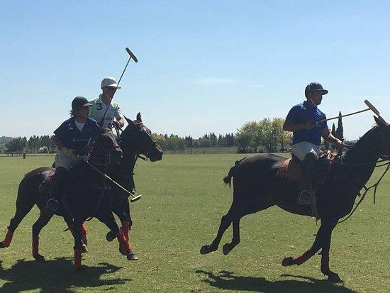 Argentina Polo Day: En match avec Sergio