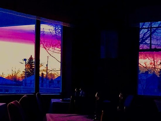 Red Rock, Canada: Early morning from the dining room