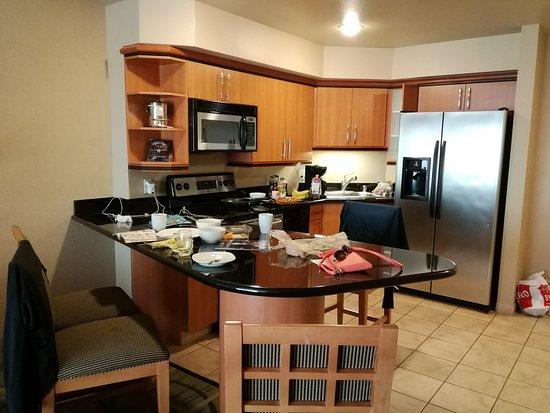 Platinum Hotel and Spa: 調理器具もそろっています!