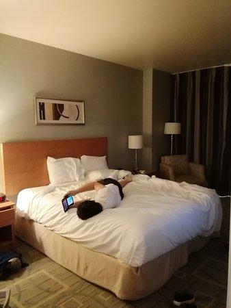 Platinum Hotel and Spa: 寝心地は良かったです