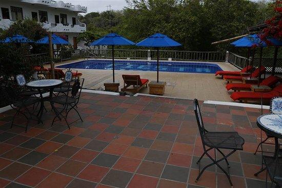 هوتل فييستا: Zwembad en het terras