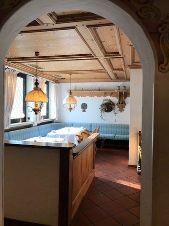 Rahden, Alemanha: Breakfast booths before entering the breakfast buffet area