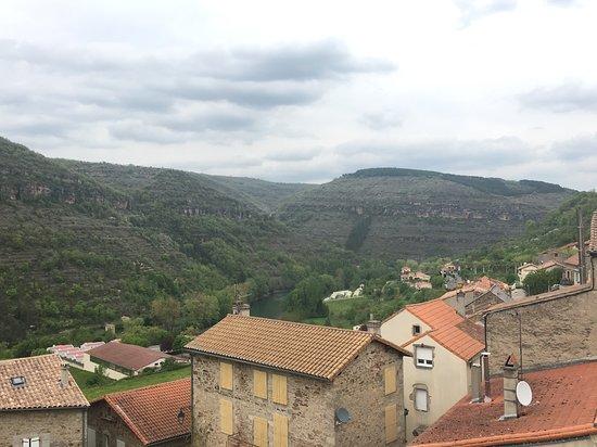 Saint-Rome-de-Tarn, Francja: Vue de la chambre