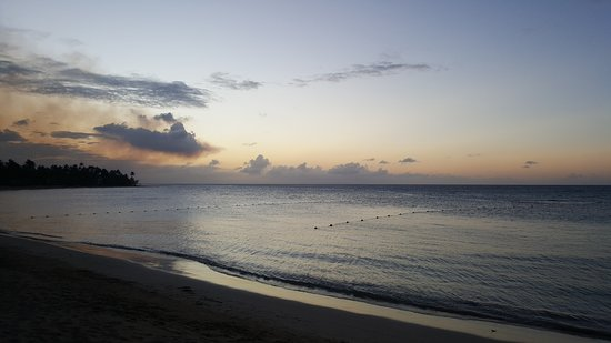 Grand Bahia Principe El Portillo: Le coucher de soleil de Samana