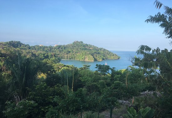 Tulemar Resort: View from the deck