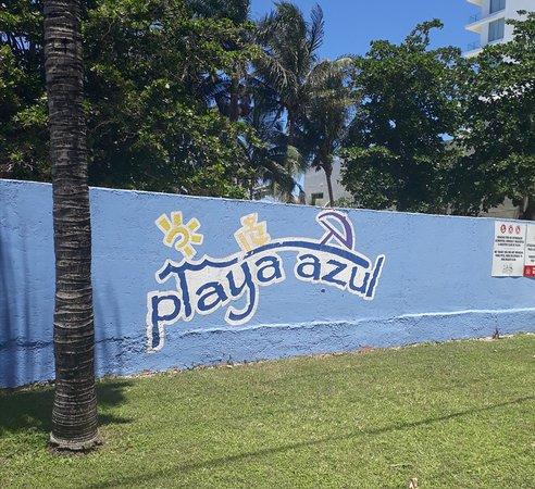 Playa Azul Beach Club Entrance