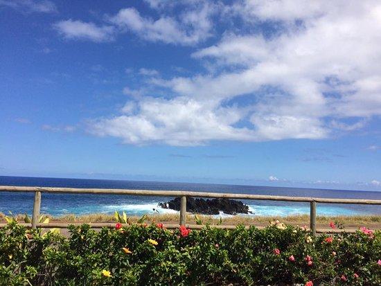 Camping Mihinoa: 營地望海