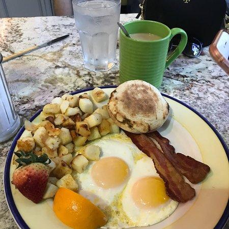 Breakfast of champs!