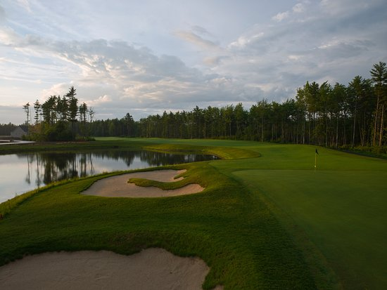 Wells, ME: #18 - one of Maine Golf's toughest finishing holes