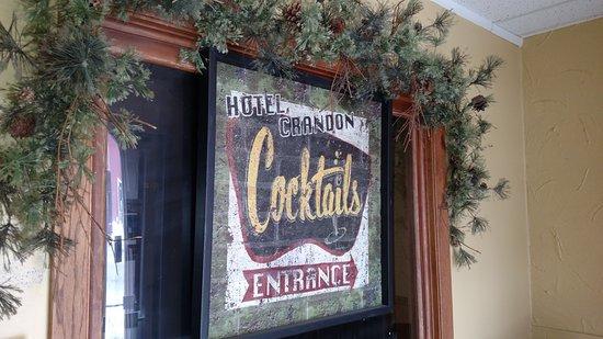 Crandon Hotel & Restaurant - Fresh Salad Bar - Historic